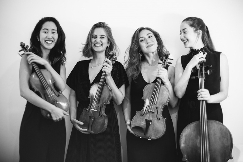 Mona Quartet — 2020 Chamber music residency