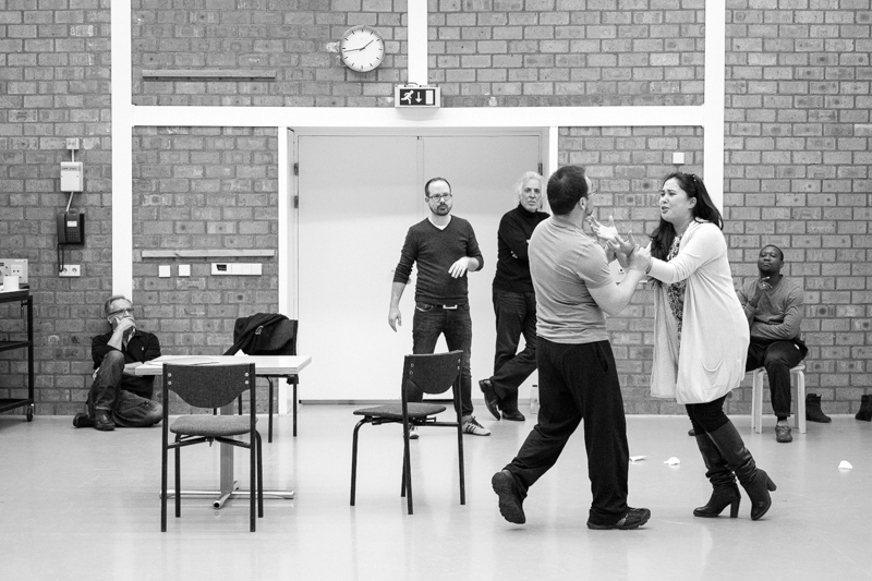 Workshop on Lucia di Lammermoor, Dutch National Opera, 2014